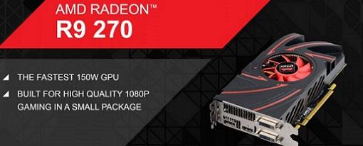 AMD lanza la tarjeta gráfica Radeon R9 270