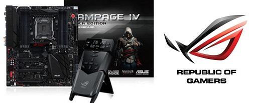 Asus lanzó su tarjeta madre Rampage IV Black Edition