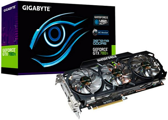 Gigabyte GeForce GTX 780 Ti Overclock Edition