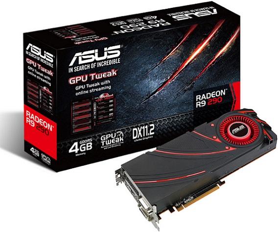 Radeon R9 290 de Asus - R9290-4GD5