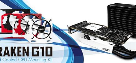 Adaptador para refrigeración líquida para GPU Kraken G10 de NZXT