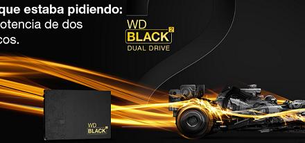 Western Digital anuncia su disco dual SSD + HDD WD Black2
