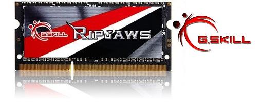 G.Skill anuncia su kit de memorias SO-DIMM DDR3L de 8 GB @ 2133 MHz