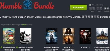 Ofertazo el nuevo Warner Humble Bundle