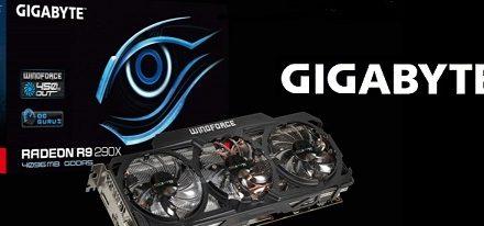 Gigabyte Radeon R9 290X OC con refrigerador WindForce 3X