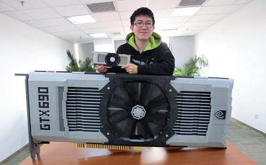 Nvidia GeForce GTX 690 de Lego