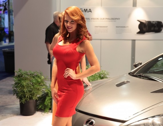 Booth Babes - CES 2014