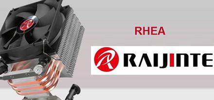 Raijintek presenta su nuevo disipador para CPU RHEA