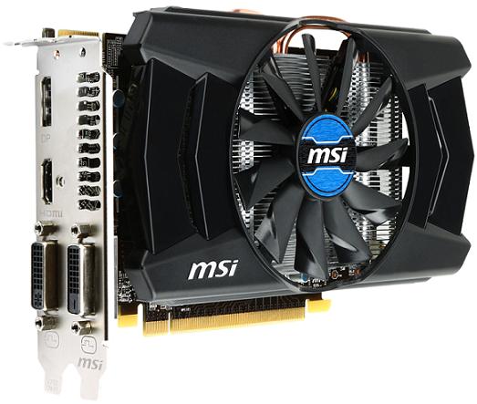 MSI Radeon R7 260 1GD5 OC
