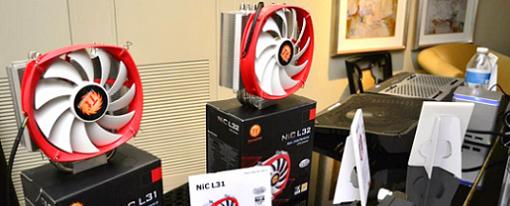 CES 2014 – Disipadores para CPU NIC L31 y NIC L32 de Thermaltake