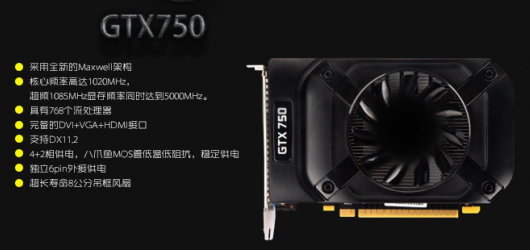 Nvidia GeForce GTX 750