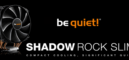CPU Cooler Shadow Rock Slim de be quiet!