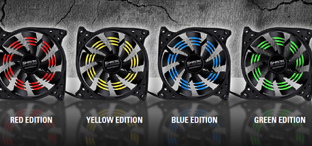 Sharkoon lanza sus ventiladores de 120mm SHARK Blades