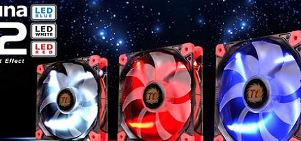 Nuevos ventiladores Luna & Pure de Thermaltake