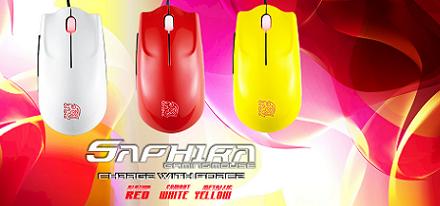 Tt eSPORTS lanza su ratón SAPHIRA en 3 nuevos colores