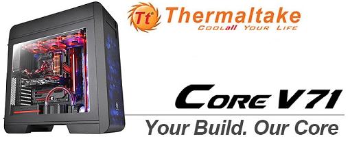 Thermaltake sorprende con su nuevo case Core V71