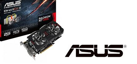 Tarjeta gráfica Radeon R7 265 DirectCU II de Asus