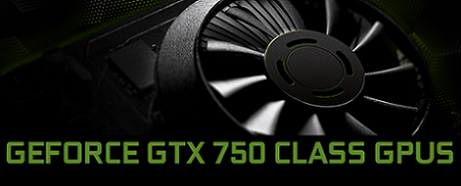 Nvidia hace oficiales sus GeForce GTX 750 Series