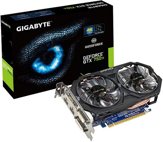 GeForce GTX 750 Ti de Gigabyte