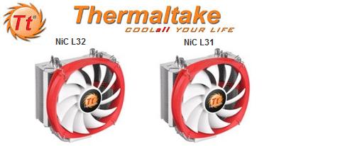 Thermaltake adiciona dos nuevos refrigeradores para CPU a su serie NiC