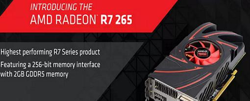 AMD hace oficial su Radeon R7 265