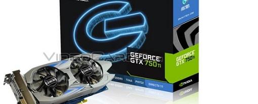 Galaxy prepara su variante personalizada de la GeForce GTX 750 Ti