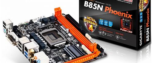 Gigabyte presenta su tarjeta madre B85N-Phoenix