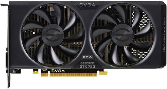 EVGA GeForce GTX 750 FTW 2GB