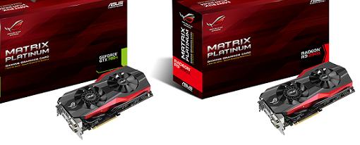 Asus revela sus tarjetas de video ROG Matrix R9 290X y GTX 780 Ti