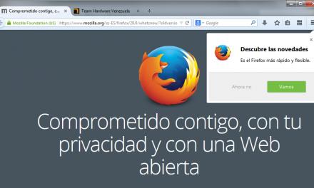 Firefox se rediseña con una espectacular nueva interfaz