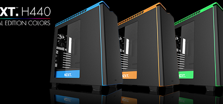 Chasis H440 Special Edition Colors de NZXT