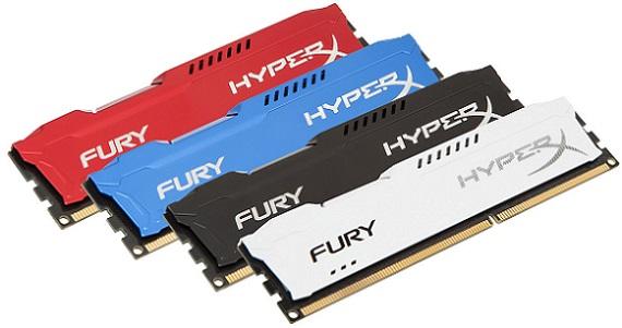 Memorias HyperX FURY