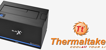 Docking Station BlacX Urban Wi-Fi Edition de Thermaltake