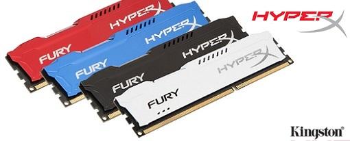 Nueva linea de memorias FURY de HyperX