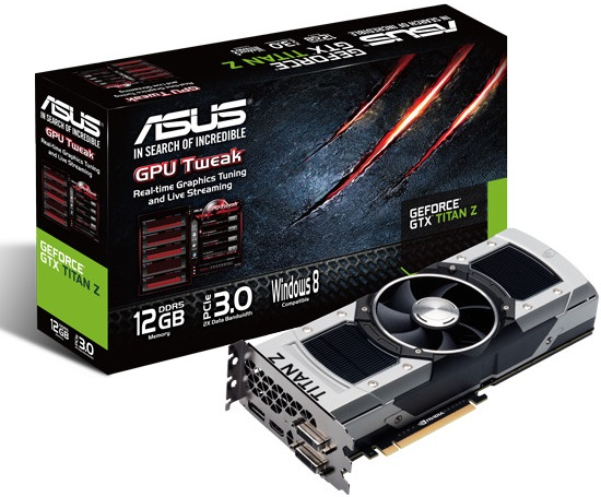 ASUS GeForce GTX TITAN-Z