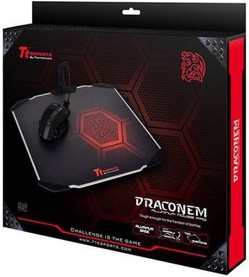 Almohadilla para ratón de aluminio DRACONEM de Tt eSports
