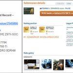 GIGABYTE_9Series_SOC_records 3DMARK05 x1 GPU