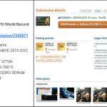 GIGABYTE_9Series_SOC_records 3DMARK2001 SE x1 GPU