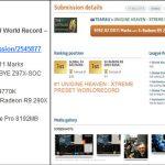 GIGABYTE_9Series_SOC_records UNIGINE HEAVEN x3 GPU