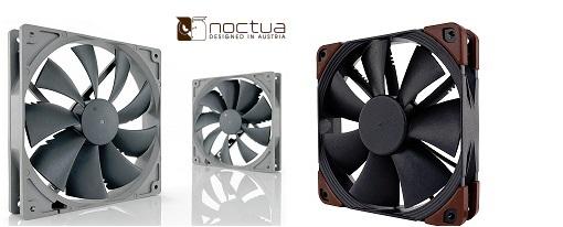 Noctua presenta dos nuevas líneas de ventiladores y kits de accesorios