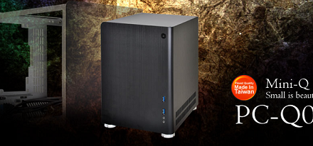 Case mini-ITX PC-Q01de Lian Li