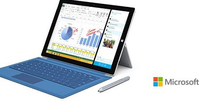 Microsoft lanza su tablet Surface Pro 3