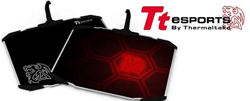 Tt eSports lanza su almohadilla para ratón de aluminio DRACONEM