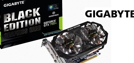 GeForce GTX 750 Ti Black Edition de Gigabyte