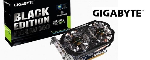 GeForce GTX 750 Ti Black Edition de Gigabyte