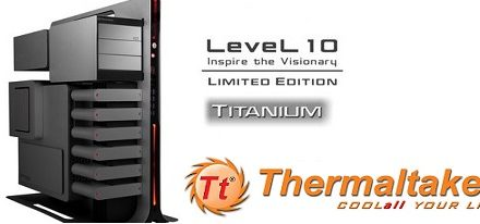 Thermaltake mostrará su case Level 10 Titanium Limited Edition en la Computex