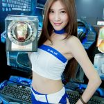 Boot babes - E-Blue - Computex 2014