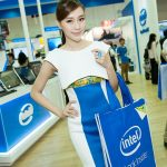 Boot babes - Intel - Computex 2014