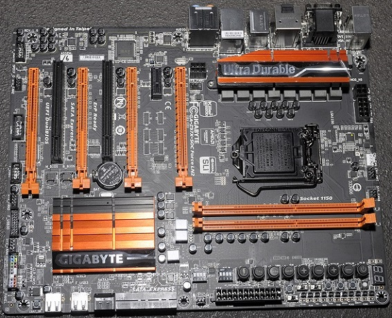 GA-Z97X-SOC Force LN2 de Gigabyte