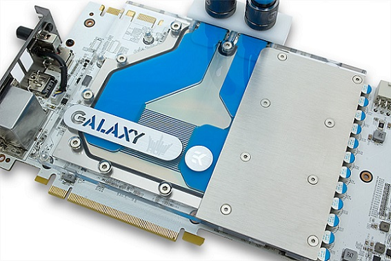 Galaxy & EK bloque de refrigeración líquida GeForce GTX 780 Ti HOF V2
